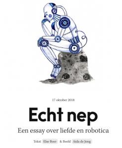 Een Essay Over Liefde En Robotica Else Boer